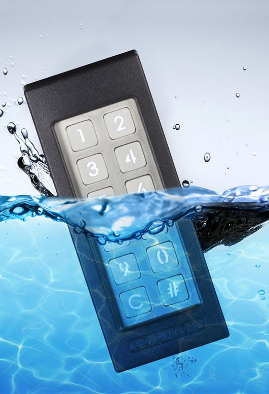 Waterdicht codeclavier Slimstone
