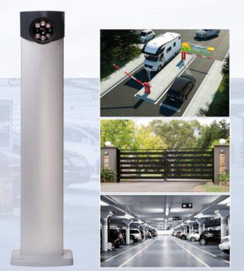 Ingebouwde ANPR-camera iZero : discreet & autonoom
